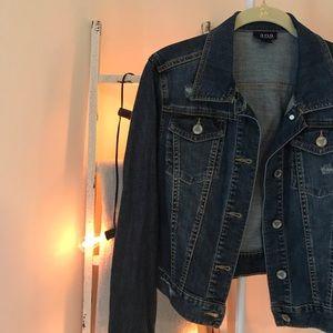 A.N.A Dark Wash Denim Jacket Size M